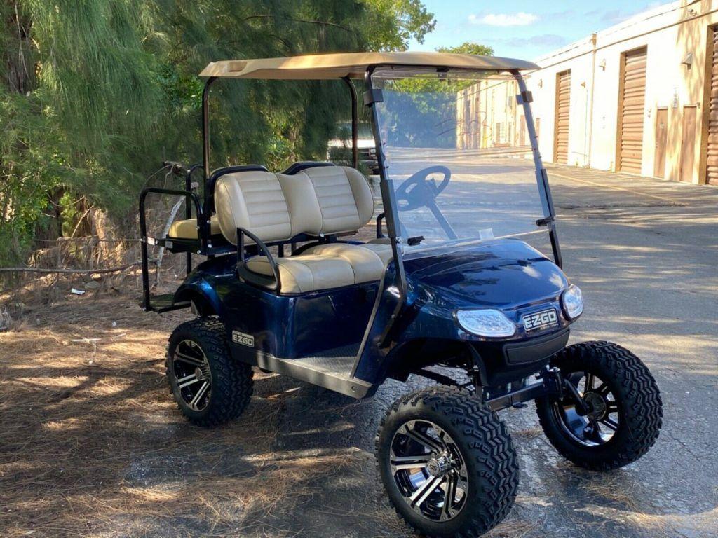 Lifted 2017 EZGO Golf Cart