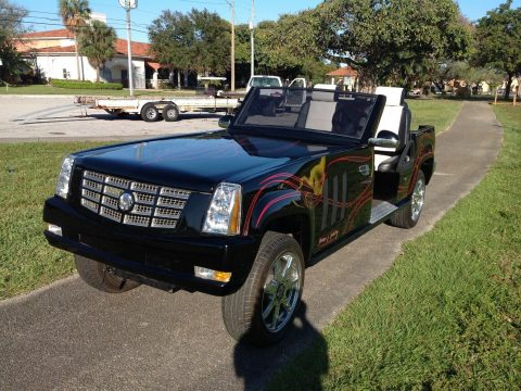 badass 2012 Cadillac Escalade Golf Cart for sale