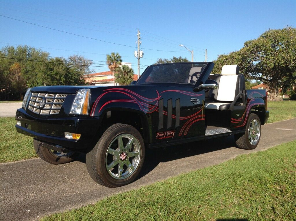 badass 2012 Cadillac Escalade Golf Cart