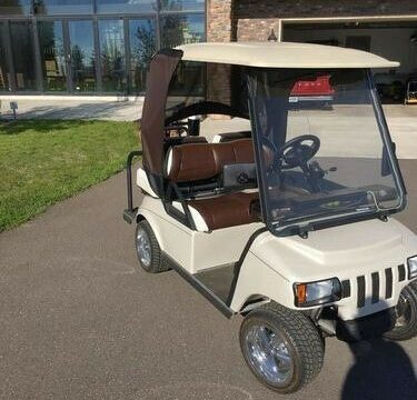 custom 2010 Club Car Villager 2+2 golf cart for sale