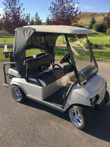 custom 2010 Club Car Villager 2+2 golf cart