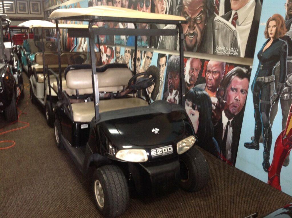 fast 2010 EZGO golf cart