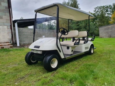 great shape 2009 EZGO Electric Shuttle golf cart for sale