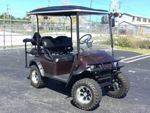 lifted 2009 EZGO golf cart for sale