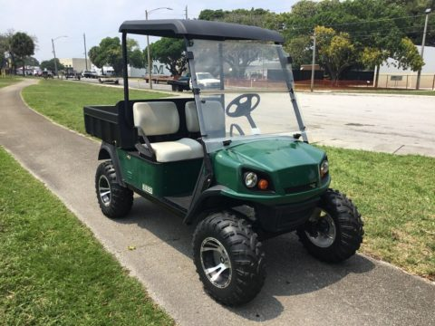 lifted 2014 EZGO golf cart for sale
