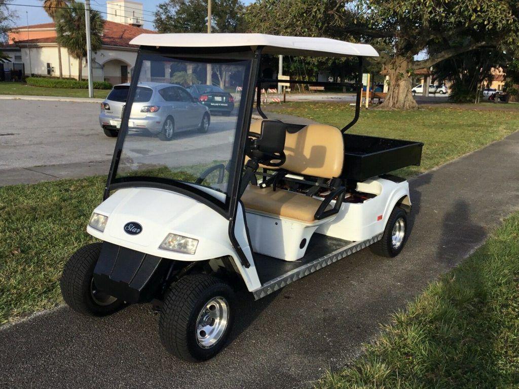 long bed 2011 Star EV golf cart