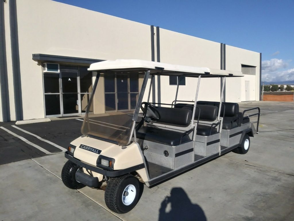 8 Passenger 1999 Club Car Carryall Golf Cart