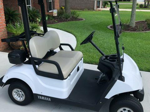 barely driven 2017 Yamaha G29 Electric Golf Cart for sale