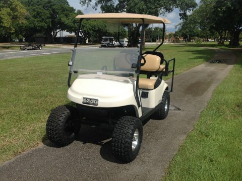 Lifted 2015 EZGO golf cart for sale