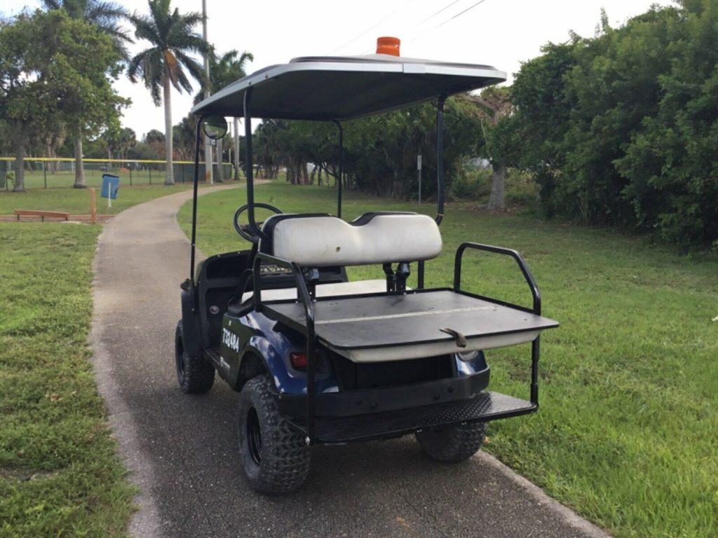 Lifted 2015 EZGO golf cart