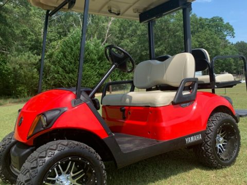 minor blemishes 2017 Yamaha Drive Gas Golf Cart for sale