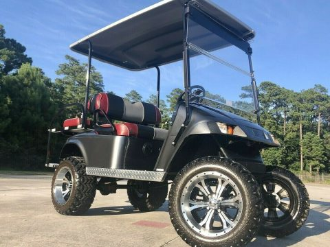 Lifted 2011 EZGO Golf Cart for sale