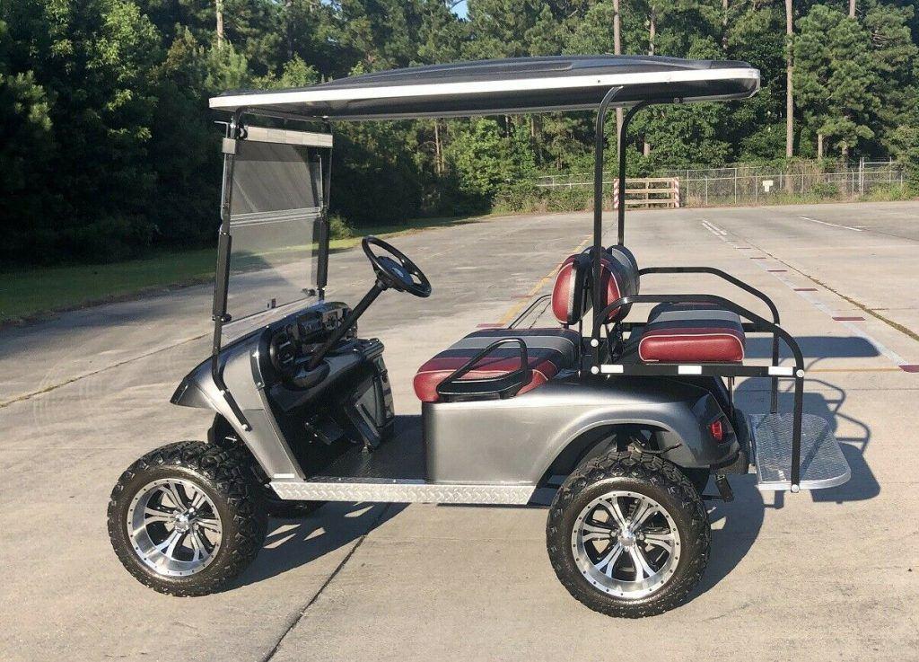 Lifted 2011 EZGO Golf Cart