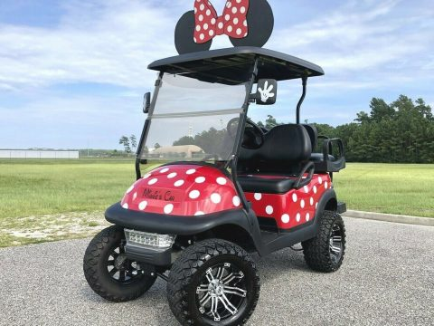 minnie Mouse 2013 Club Car Precedent Golf Cart for sale